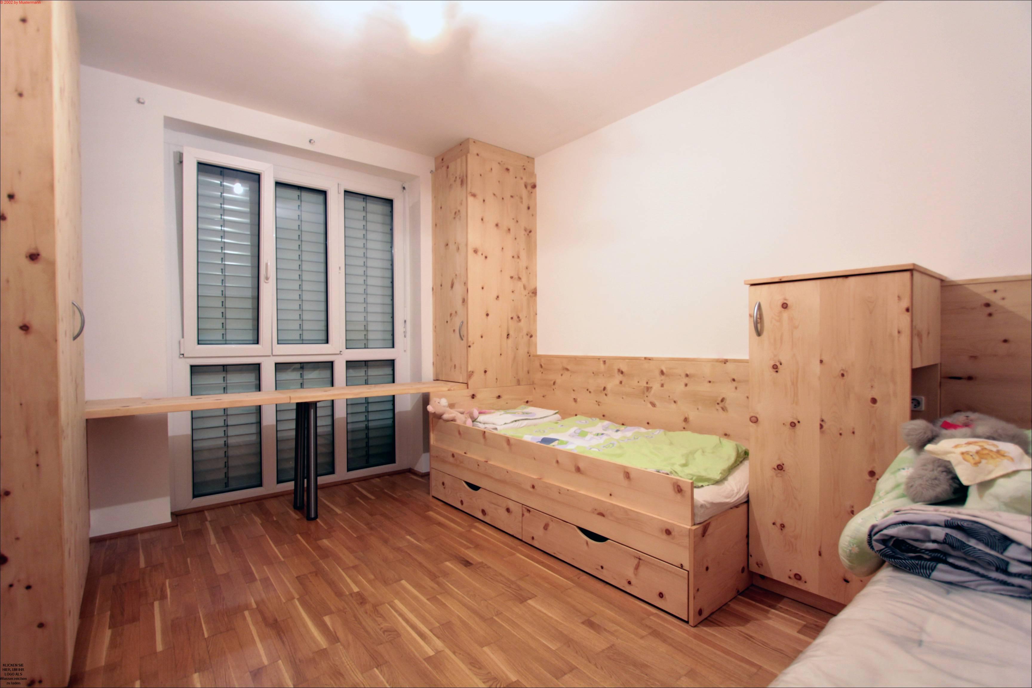 kinderzimmer in zirbenholz - listberger tischlerei