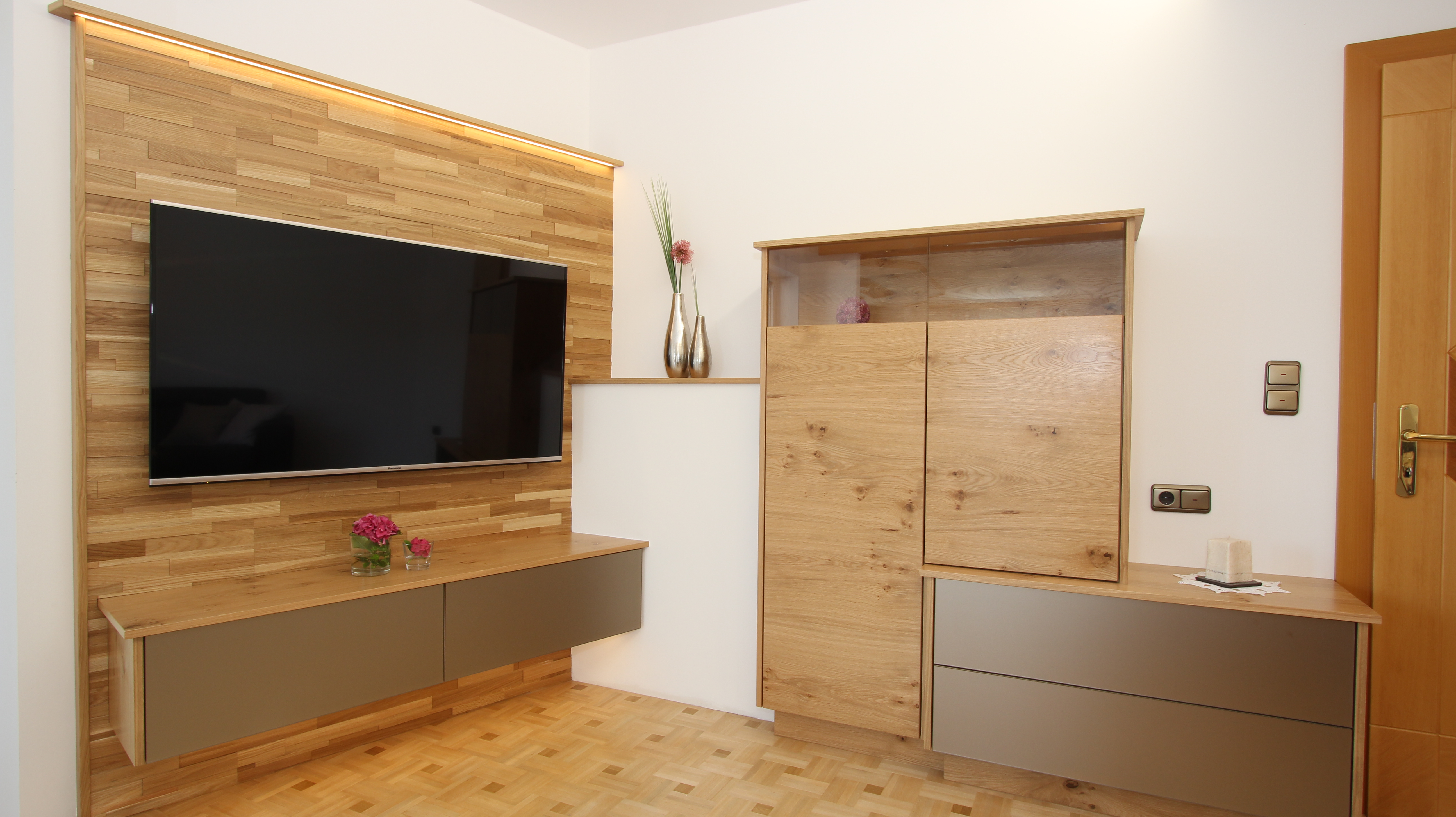 Design Wohnzimmer Steyr - Tischlerei Listberger