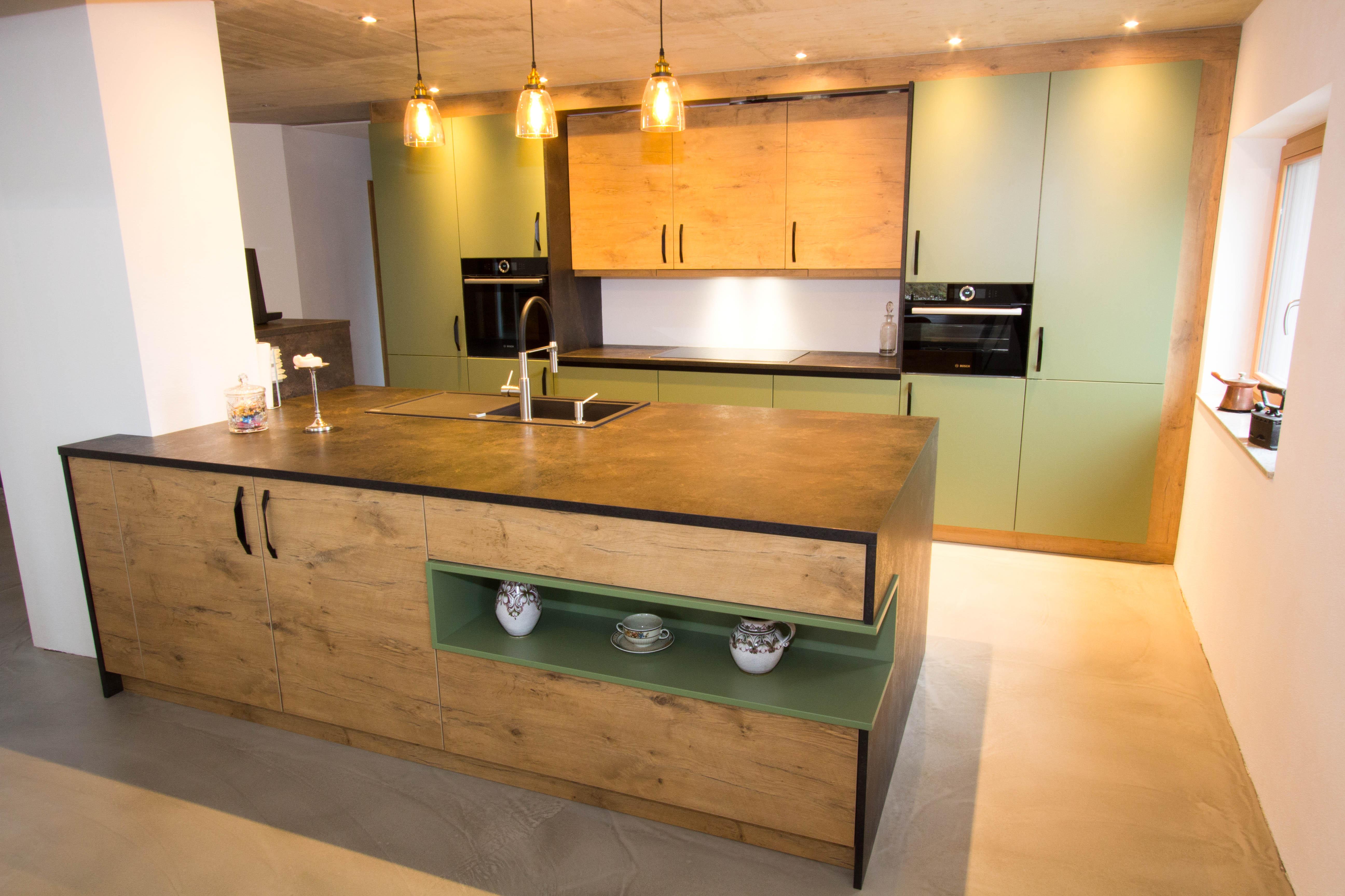 design k che eiche vom tischler in gmunden. Black Bedroom Furniture Sets. Home Design Ideas